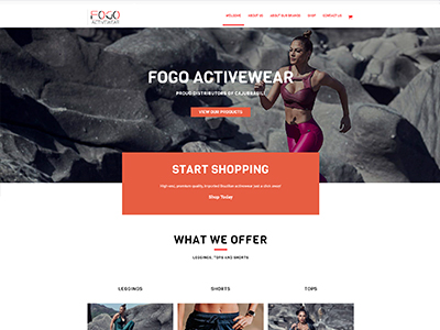 FOGO Active Wear